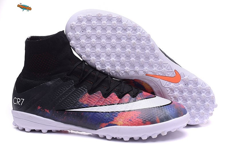 Nuove Nike Mercurial Superfly CR7 TF Nero Bianco