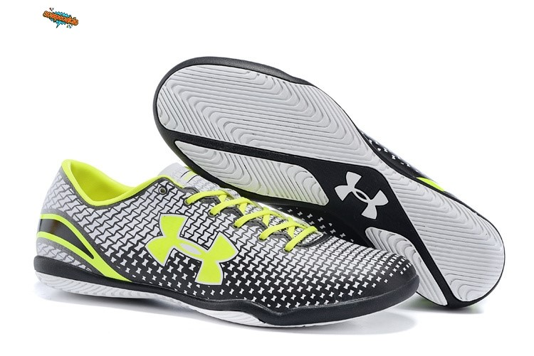 Nuove Under Armour Clutchfit Force IC Verde Fluorescente Nero Bianco