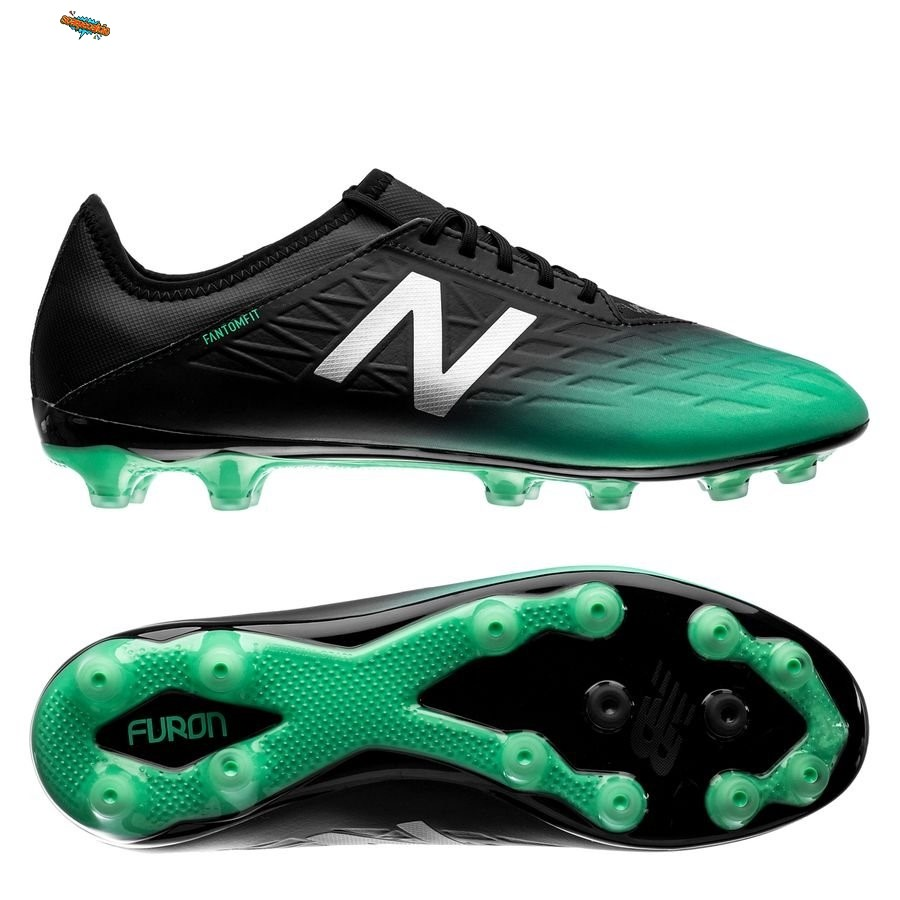 Nuove New Balance Furon 5.0 Destroy AG Nero Verde Bianco
